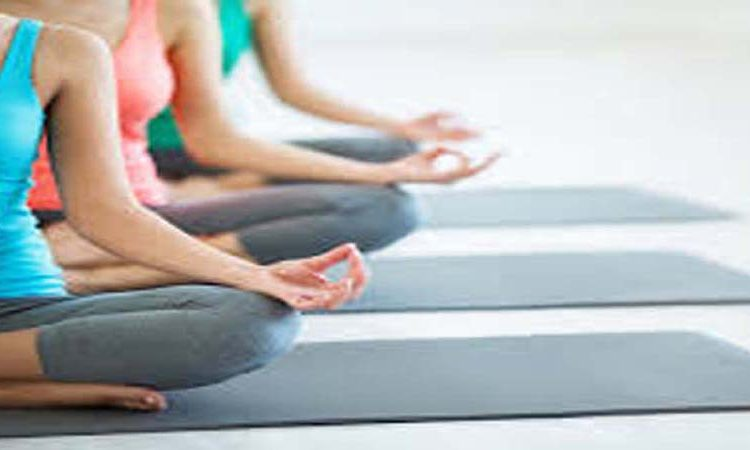 Corporate yoga classes available