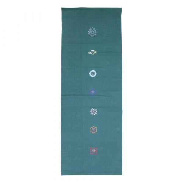 Cotton Yoga Rug – Chakra Pattern