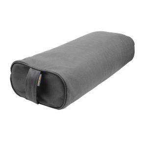 Grey Buckwheat Rectangular Yoga Booster