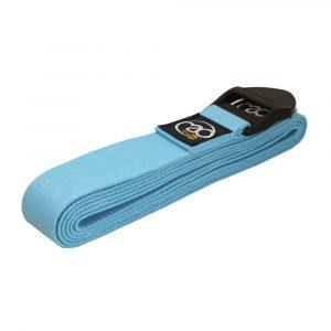 Cotton Yoga Belt - Light Blue