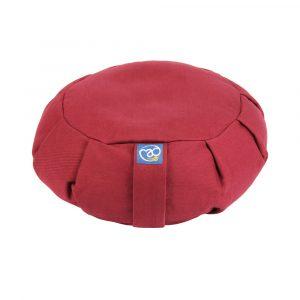 Zafu Meditation Cushion Burgandy