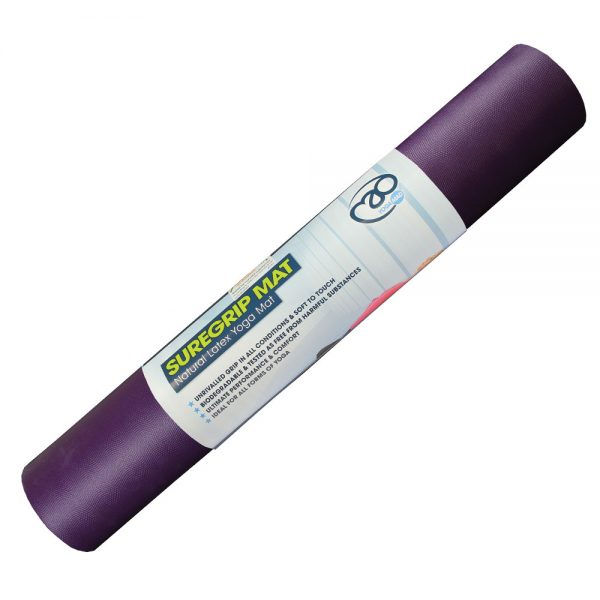 SureGrip Yoga Mat Purple