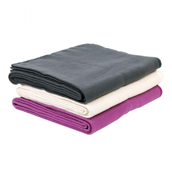 Hand Woven Cotton Yoga 'Seamless' Blanket