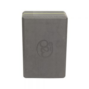 Grey Yoga Block