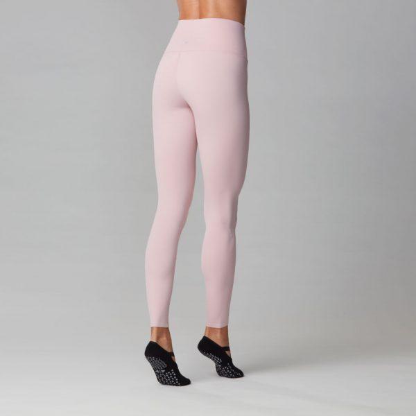 High Waisted Yoga Pants in Bashful