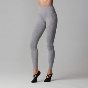 High Waisted Yoga Pants in Heather