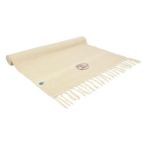 100% Organic Cotton Yoga Rug