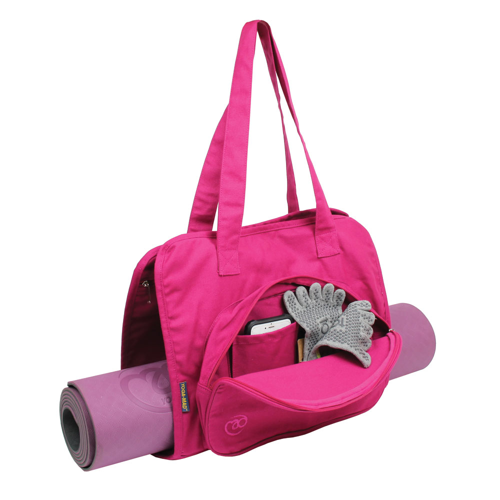 Yoga Mat Carry Bag in Pink