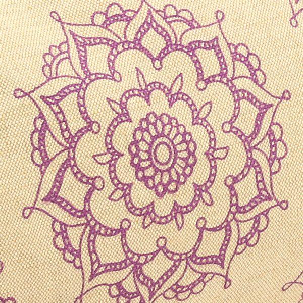 Patterned Buckwheat Yoga Bolster
