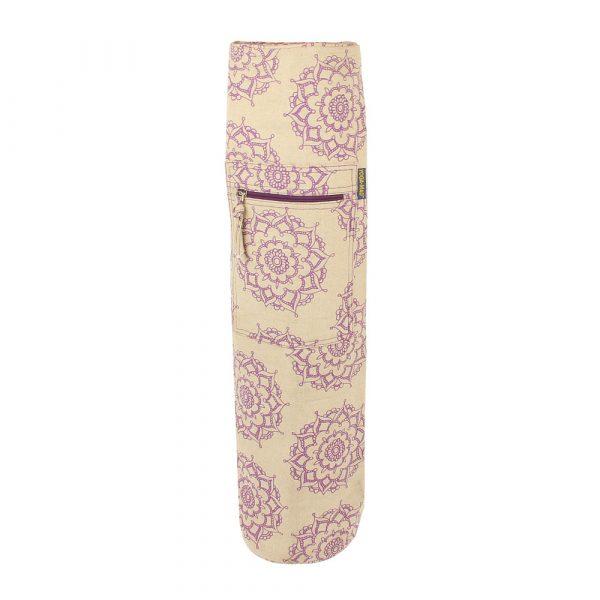 Yog mat bag with a Mandala pattern