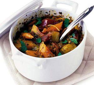 Vegetarian Moroccan Tagine
