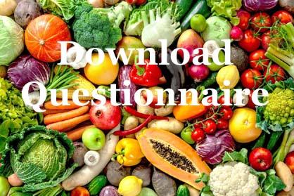 28 Day Diet Plan Questionnaire