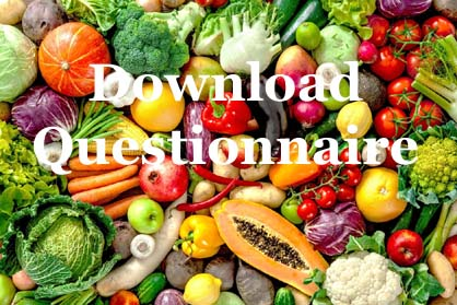 Nutritional Therapy Questionnaire