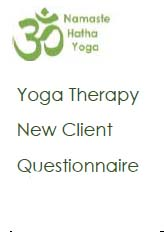 Yoga Therapy New Client Questionnaire